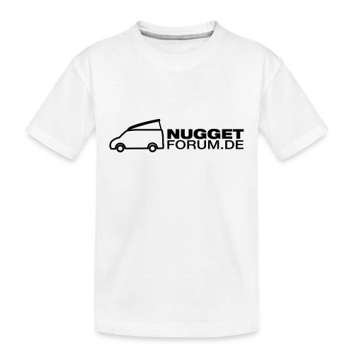 Nuggetforum Aufkleber Auf - Teenager Premium Bio T-Shirt