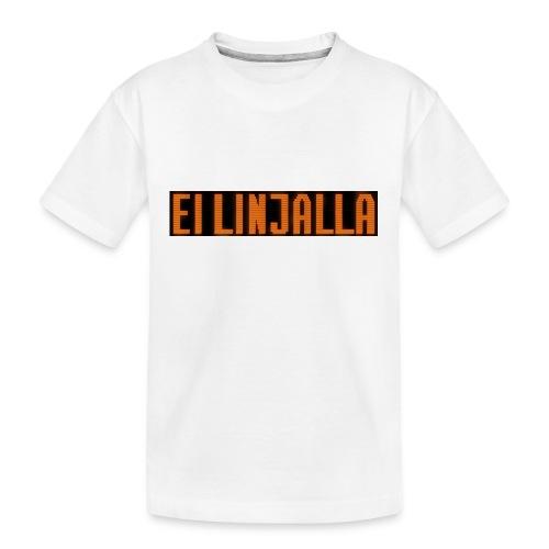 EI LINJALLA - Teinien premium luomu-t-paita