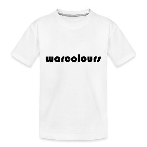 warcolours logo - Teenager Premium Organic T-Shirt