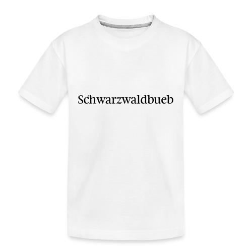 Schwarwaldbueb - T-Shirt - Teenager Premium Bio T-Shirt