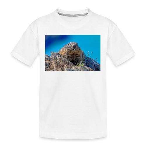 Murmeltier - Teenager Premium Bio T-Shirt