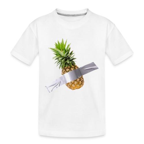 Pineapple Art - Maglietta ecologica premium per ragazzi