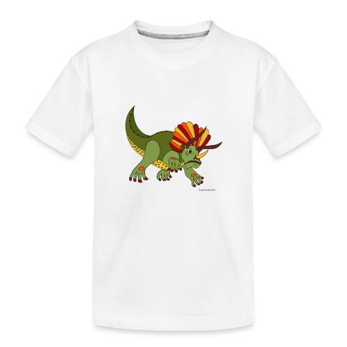 Rhino das wütende Urtier - Teenager Premium Bio T-Shirt