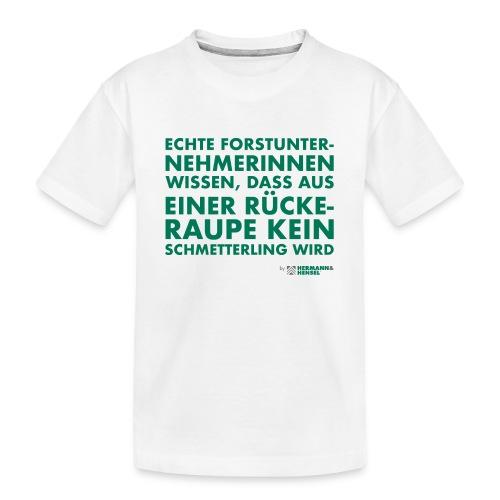 Forstunternehmerinnen | Schmetterling - Teenager Premium Bio T-Shirt