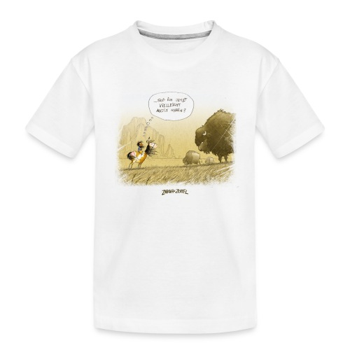 Zarah hat keine Angst - Teenager Premium Bio T-Shirt