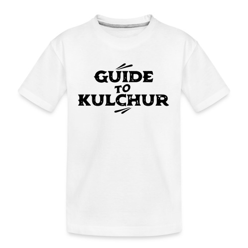 Guide to Kulchur - Teenager Premium Organic T-Shirt