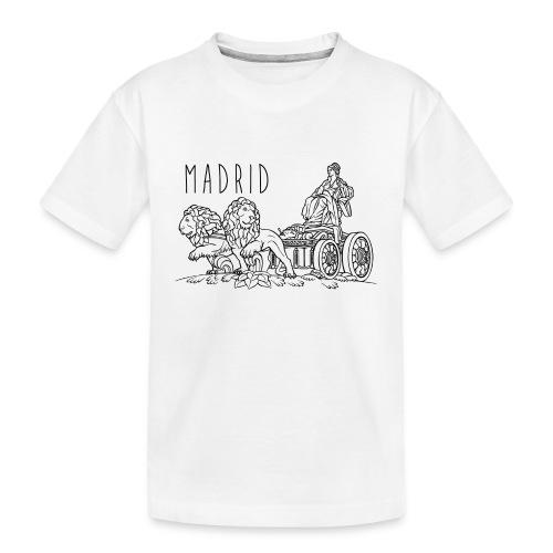 CIBELES NEGRO - Camiseta orgánica premium adolescente