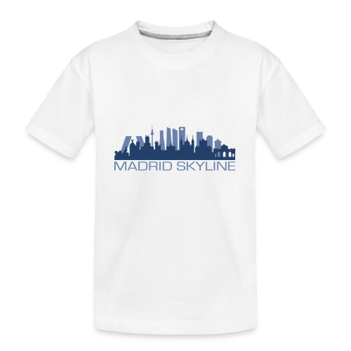 MADRIDSKYLINE - Camiseta orgánica premium adolescente
