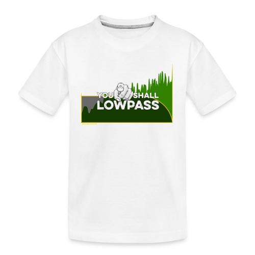 You shall Low Pass (Green) - T-shirt bio Premium Ado