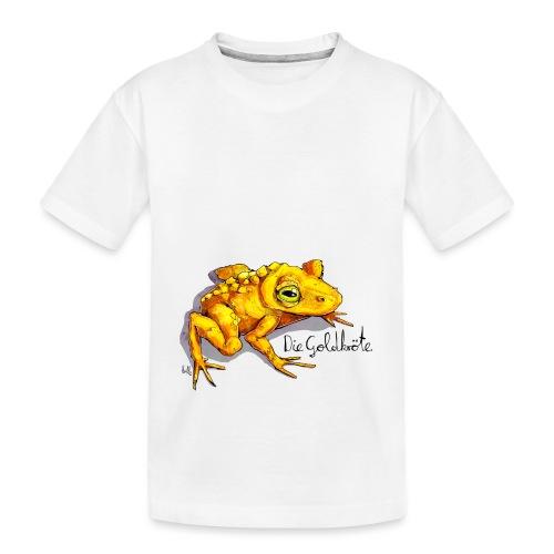 Goldkröte - Teenager Premium Bio T-Shirt