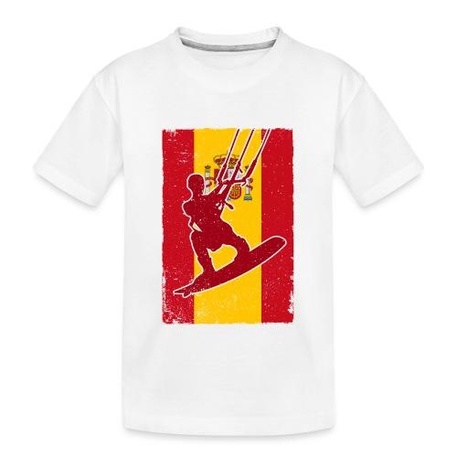 Kitesurfer Spain - Teenager Premium Bio T-Shirt