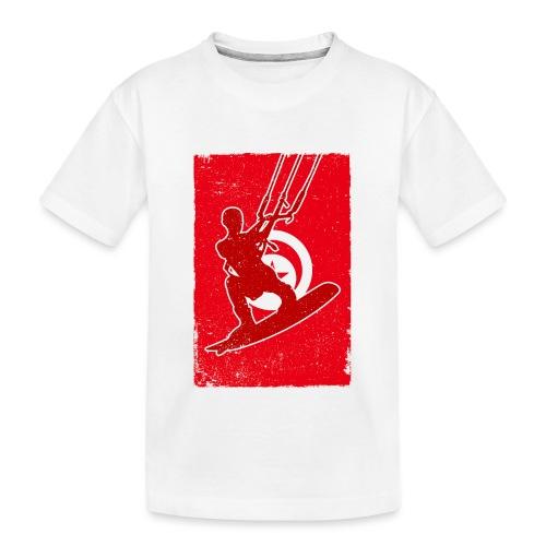 Kitesurfer Tunisia - Teenager Premium Bio T-Shirt