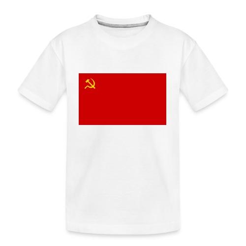 Eipä kestä - Teinien premium luomu-t-paita