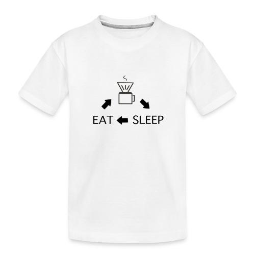 Kaffee Liebe Barista - Teenager Premium Bio T-Shirt