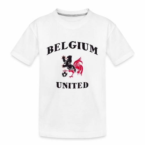 Belgium Unit - Teenager Premium Organic T-Shirt