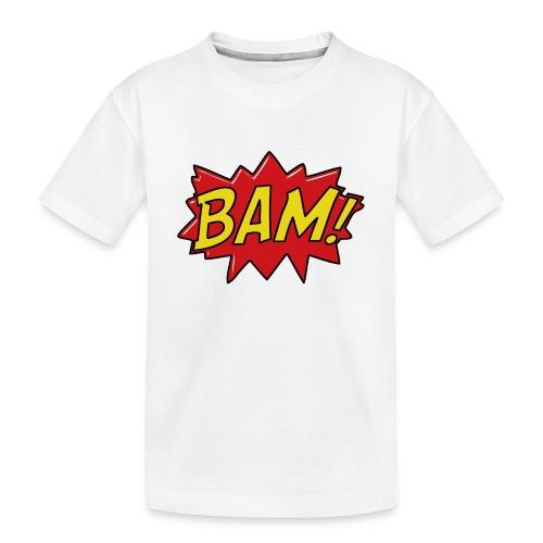 bamtamelijk - Teenager premium biologisch T-shirt