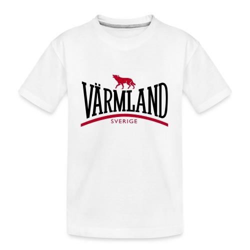 VÄRMLAND - Ekologisk premium-T-shirt tonåring