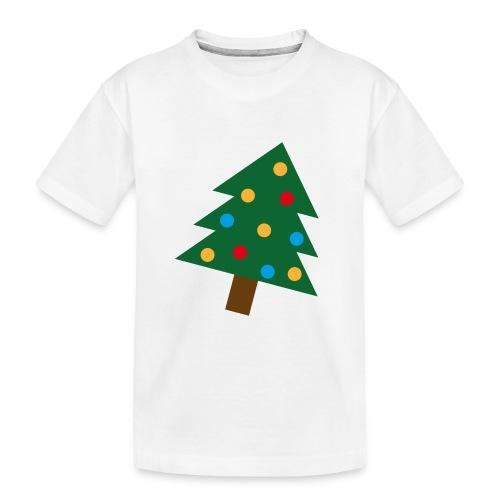 Weihnachtsbaum für hässliche Weihnachten - Teenager Premium Bio T-Shirt