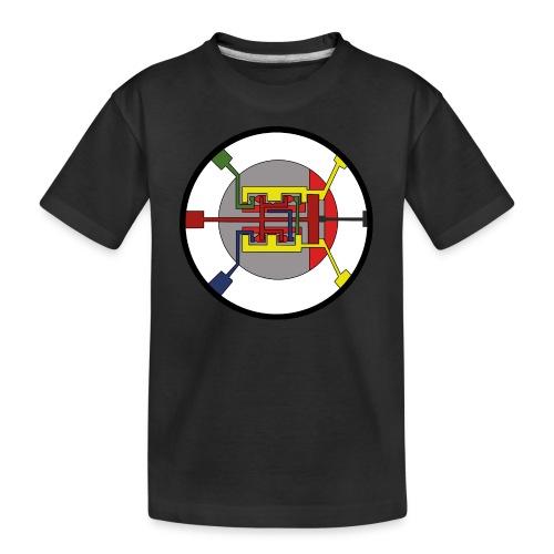 JackJohannes Hemp's Oscillator - Teenager premium biologisch T-shirt