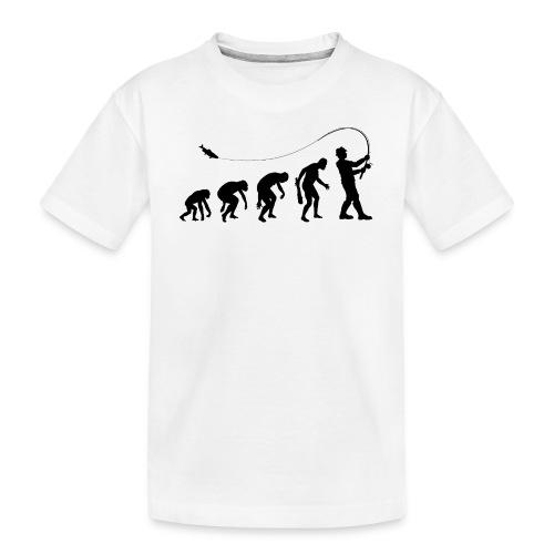 Evolution of fischers - Teenager Premium Bio T-Shirt