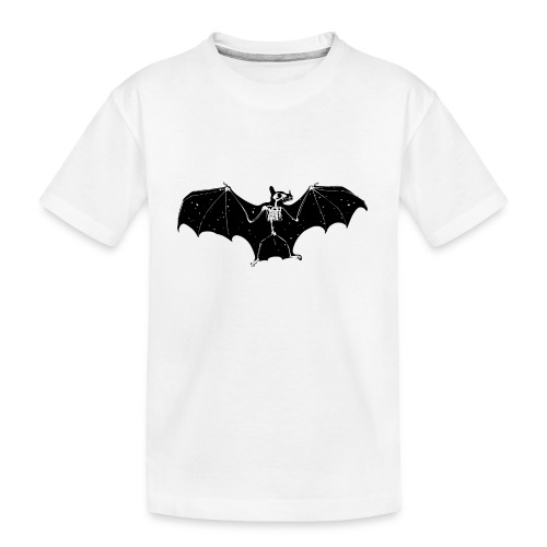 Bat skeleton #1 - Teenager Premium Organic T-Shirt
