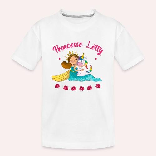 Princesse Letty - T-shirt bio Premium Ado