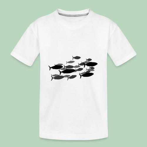 Vis Fish - Teenager premium biologisch T-shirt