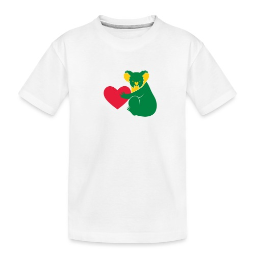 Koala Heart - Teenager Premium Organic T-Shirt