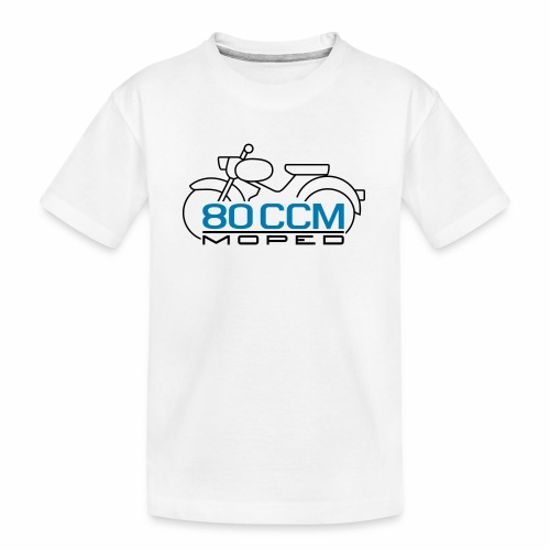 Moped sparrow 80 cc emblem - Teenager Premium Organic T-Shirt