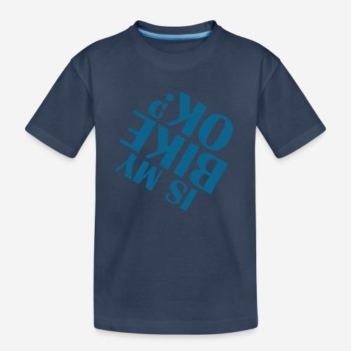 Fahrradunfall fallen - Teenager Premium Bio T-Shirt