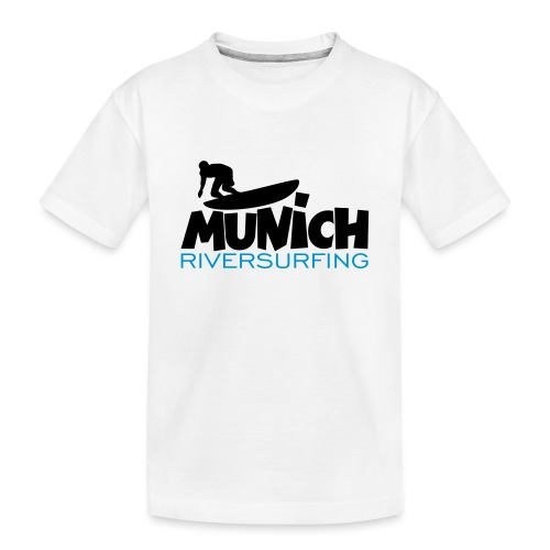 Munich Riversurfing München Surfer - Teenager Premium Bio T-Shirt