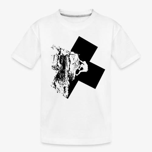 Rock climbing - Teenager Premium Organic T-Shirt