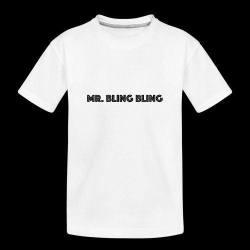 bling bling - Teenager Premium Bio T-Shirt
