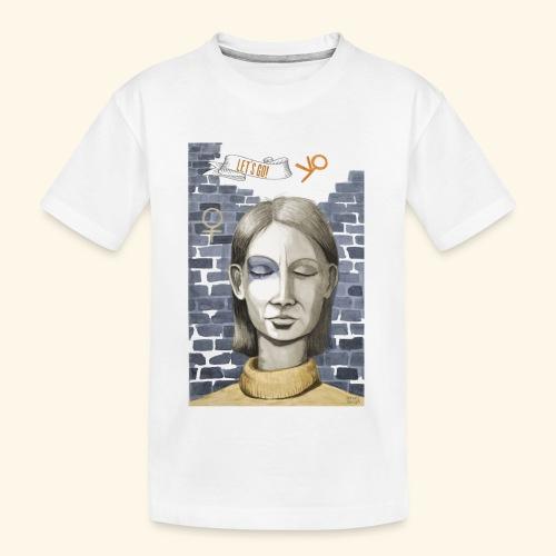 Emanzipation2020 - Let's go! - Resonanz - Teenager Premium Bio T-Shirt