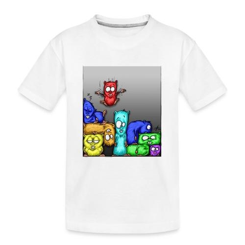 hamstris_farbe - Teenager Premium Bio T-Shirt