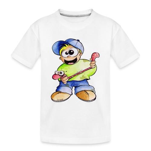Elastizitätstest - Teenager Premium Bio T-Shirt