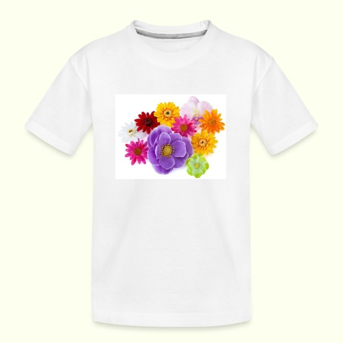 Blumen - Teenager Premium Bio T-Shirt