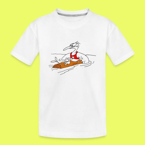 PaddelVogel - Teenager Premium Bio T-Shirt