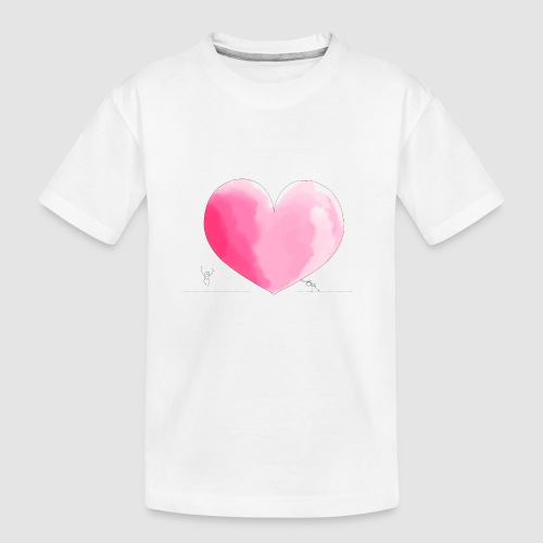 spread your love - Teenager Premium Bio T-Shirt