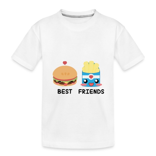 hamburger - Maglietta ecologica premium per ragazzi