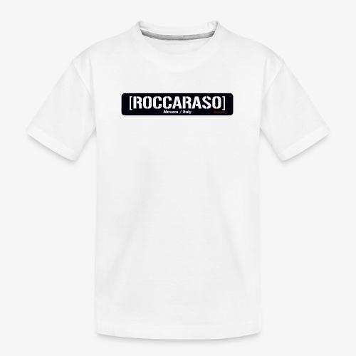 Roccaraso - Maglietta ecologica premium per ragazzi