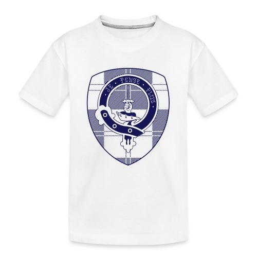 Logo Scouting Erskine 2018 - Teenager premium biologisch T-shirt