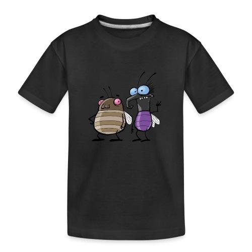 Teenager Premium Langarmshirt Insekten - Teenager Premium Bio T-Shirt