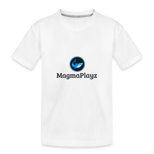MagmaPlayz shark - Teenager premium T-shirt økologisk