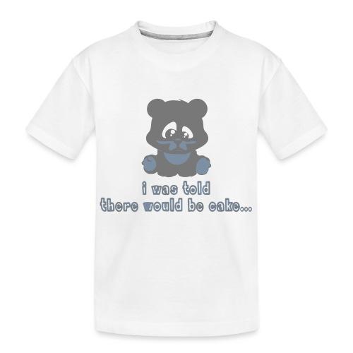 No Cake! - Teenager Premium Organic T-Shirt