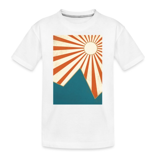 Autumn Sun - Teenager Premium Bio T-Shirt