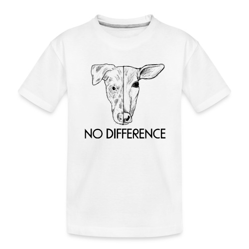 No Difference - Teenager Premium Bio T-Shirt
