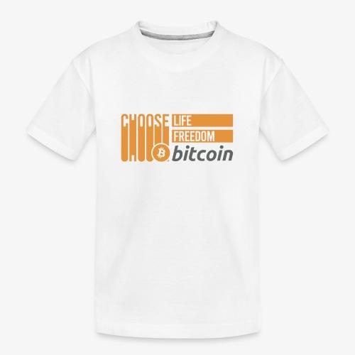 Bitcoin - T-shirt bio Premium Ado