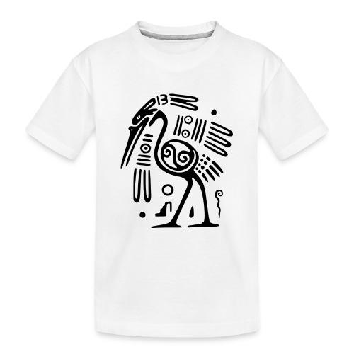 Kranich - Teenager Premium Bio T-Shirt