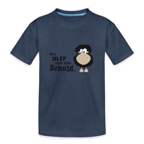 Gib mir nur die Schuld - Teenager Premium Bio T-Shirt